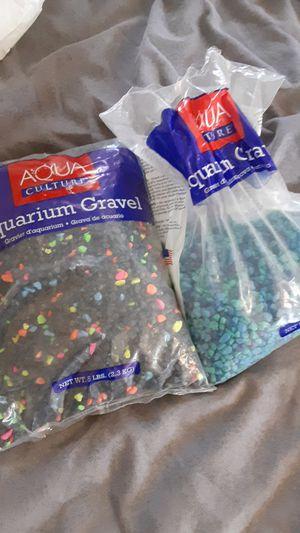 Aquarium Gravel 5lb for Sale in Fresno, CA