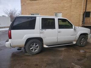 2000 Cadillac Escalade and 2002 Audi quattro for Sale in Greeley, CO