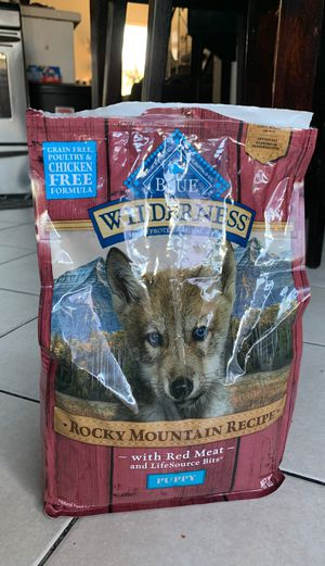 Blue wilderness puppy formula for Sale in South Gate, CA