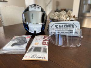 Shoei X-14 Kagayama 5 TC-2 MotoGP Racing Motorcycle Helmet Size M w/2 Visors for Sale in Las Vegas, NV