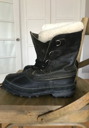 Sorel Kaufman Canada Bighorn Winter Snow Boot / Duck Boot w/ Wool Liners Unisex Women's 9 for Sale in San Diego, CA