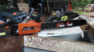 Chainsaws for sale all ran good last time used make offer for Sale in Beavercreek, OR