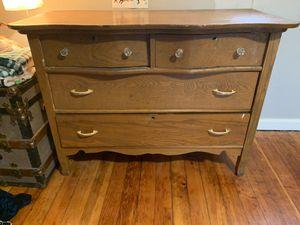 Antique oak dresser for Sale in Edgewood, WA