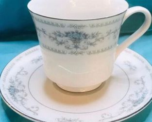 Time For Tea! Fine China Teacup & Saucer for Sale in Montgomery,  AL