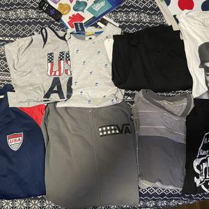 Free Shirts And Jacket XL And Large Also A Black Pair Of Pant for Sale in Fremont, CA
