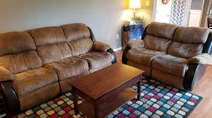 Ashley Furniture Garrett - Mocha Recliner Sofa and Loveseat for Sale in Manassas, VA