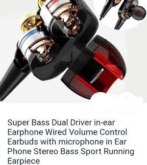 Super Bass Earbuds Earphones for Sale in Grover Beach, CA