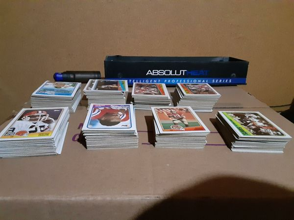 1988 NFL ROSTER TOPPS CARDS