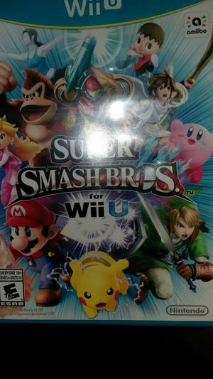 Nintendo Wii U super smash bros wii u 25 or obo for Sale in Sapulpa, OK