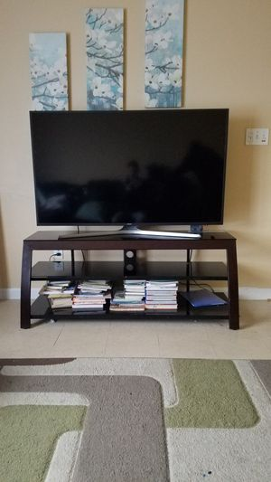 """58"""" Samsung Smart TV with stand for sale. $350 for Sale in Lawton, OK"""
