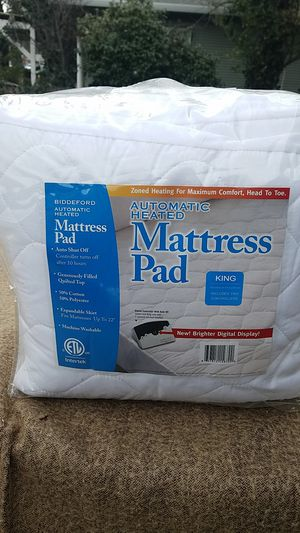 Automatic heated mattress pad king size for Sale in HILLTOP MALL, CA