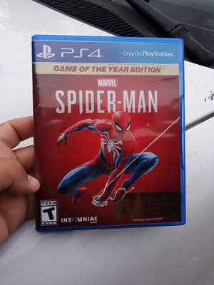 Spiderman PS4 for Sale in Phoenix, AZ