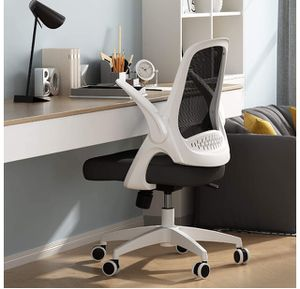 🔥BRAND NEW Office Task Desk Chair Swivel Home Comfort Chairs with Flip-up Arms and Adjustable Height, White for Sale in Derby, KS