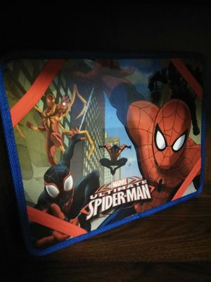 Marvel Spiderman Kids Desk w/ side pouches for Sale in Olympia, WA