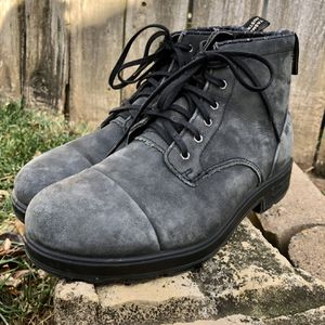 Blundstone #1619 Lace Up Boots Size 8.5 Rustic Black for Sale in Wichita, KS