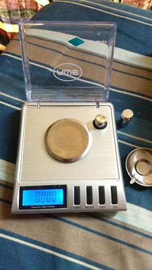 PORTABLE milligram scale HIGH PRECISION 64.95 Amazon Retail value for Sale for sale  New York, NY