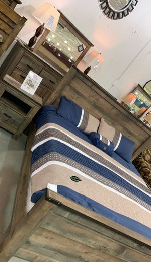 ⚓⚓Best OFFER ⚓ $39 Down Payment  Trinell Brown Panel Bedroom Set | B446 233 for Sale in Jessup, MD