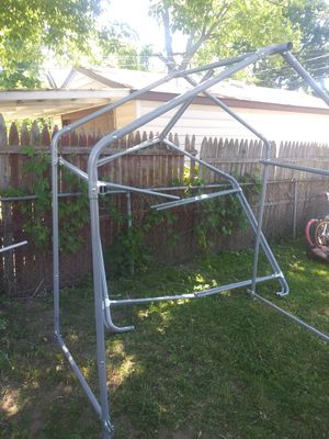 Small frame for grow house or shed I do not have the plastic or the tarp for it for Sale in Warren, MI