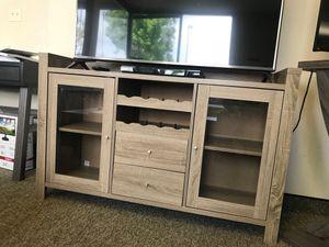 Melissa wine Cabinet, Dark Taupe Color for Sale in Santa Ana, CA