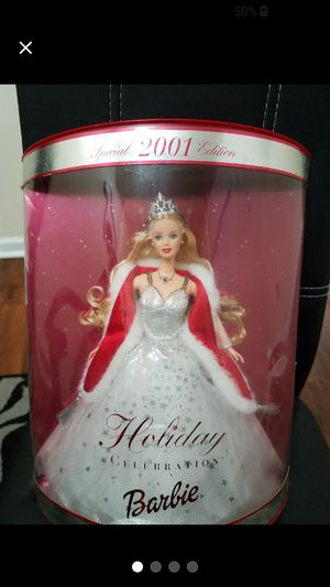 2001 Holiday Celebration Barbie for Sale in Toms River, NJ