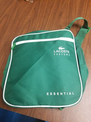 Lacoste Parfums Backpack & Duffle Bag for Sale in Norfolk, VA