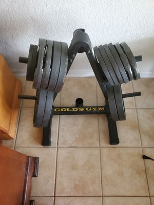 Golds Gym Weight Set for Sale in Clearwater, FL