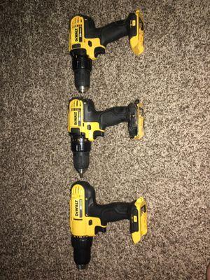 "Dewalt 1/2"" driver drills (1-type 2 | 2-type 3) for Sale in Macon, GA"