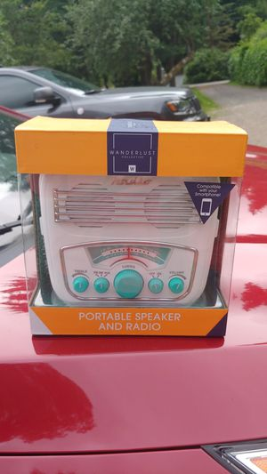 Wifi RADIO AND SPEAKER for Sale in Woodinville, WA