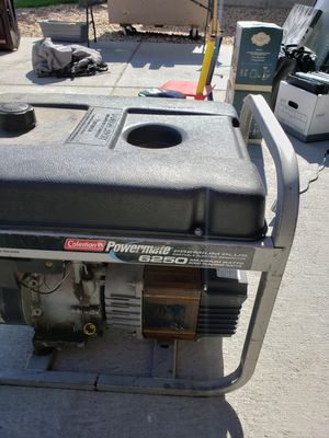 Coleman 6250 generator for Sale in Westminster, CO
