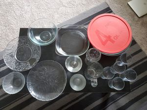 Pyrex and ikea glassware for Sale in Austin, TX