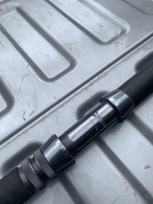 Seeker Black Steel Fishing Rod for Sale in Poway, CA