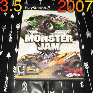 PS2 Monster Jam game CIB for Sale in Phoenix, AZ