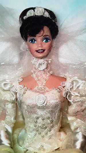 Porcelain barbie doll perfect new in box for Sale in Las Vegas, NV