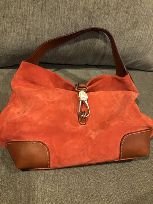Dooney&bourke Suede Hobo bag for Sale in Cleveland, OH