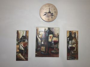 WINE abstract wall art! for Sale in Chicago, IL