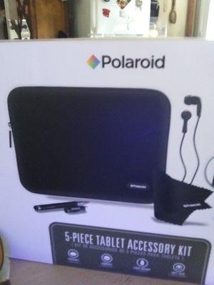 Polaroid 5 piece tablet accessory ki t for Sale in Trenton, GA