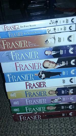 Complete Frazier 1 thru 10 + complete final season 5 of them still in plastic for Sale in Nashville, TN