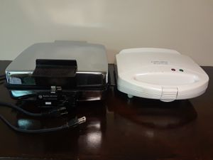 Black & Decker 3in1 grill/griddle/waffle maker ●Plus B&D QUICK GRILL● for Sale in Rockville, MD