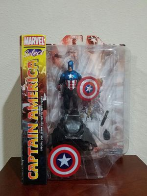 Captain America Special Collector Edition Action Figure for Sale in Thonotosassa, FL