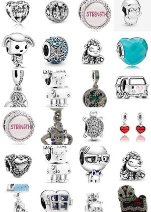 SILVER PANDORA CHARMS $20 your pick for Sale in Fort Worth, TX