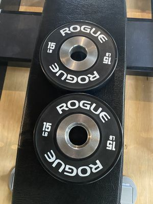 Rogue Fitness Dumbbell Bumpers New 15 lbs for Sale in Santa Ana, CA