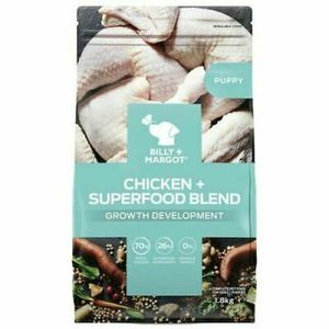 Billy + Margot Puppy Superfood Dry Dog Food 1.8kg/4 lb for Sale in Lakewood, WA