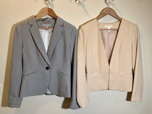 2 H&M Blazers, size 8 womens for Sale in Baltimore, MD