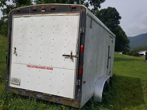 7x16 Homestead enclosed trailer for Sale in Elizabethton, TN