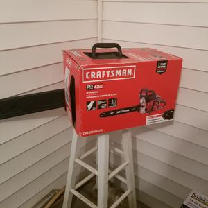 """Craftsman 18"""" Chainsaw with Heavy Duty Case New for Sale in Nicholasville, KY"""