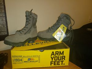 HW Side-Zip Steel Toe Tactical Boot for Sale in Panama City, FL