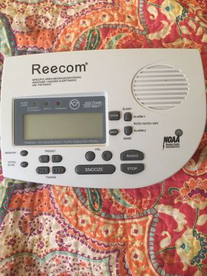 Reecom Weather Radio for Sale in Jacksonville, FL