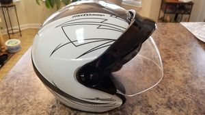 2 open face motorcycle helmets KBC great condition small and large for Sale in TN, US