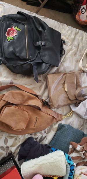 Three leather bags for Sale in San Diego, CA