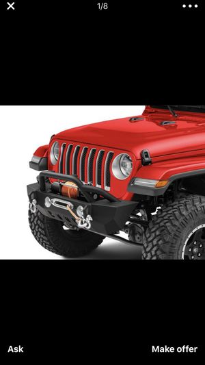 RedRock 4x4 Crawler Stubby Front Bumper w/ Winch Mount for Sale in North Miami, FL
